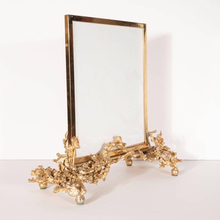 Claude Boeltz Midcentury 24 Karat Gold