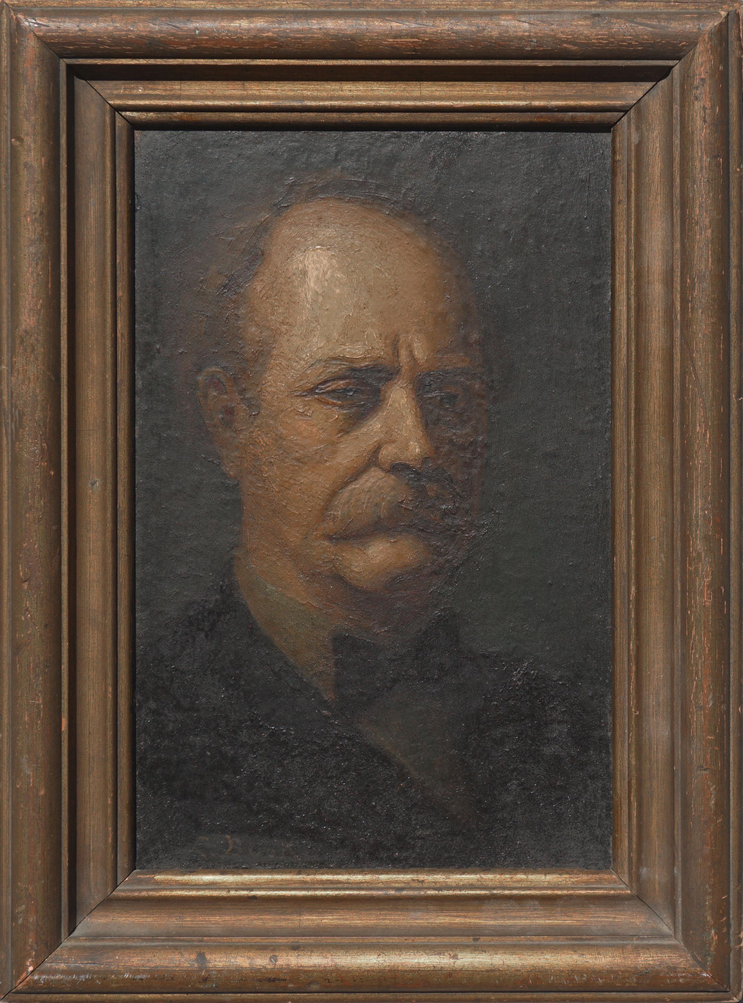 Portrait of Older Man by Claude Buck