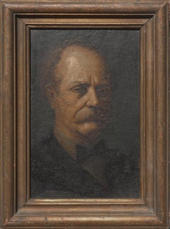 Portrait of Older Man by Claude Buck