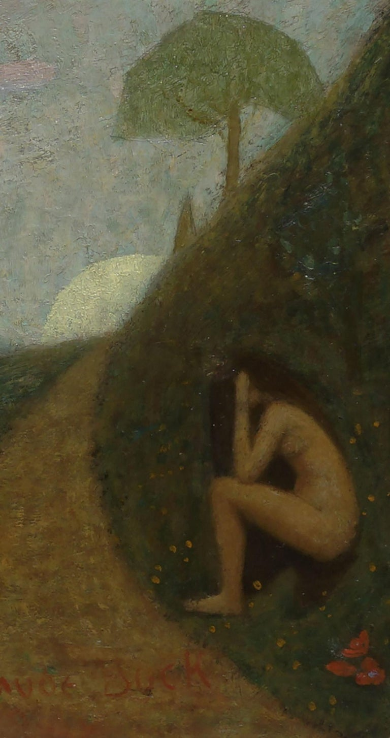 Thoughts -- Women Figurative in Landscape For Sale 1