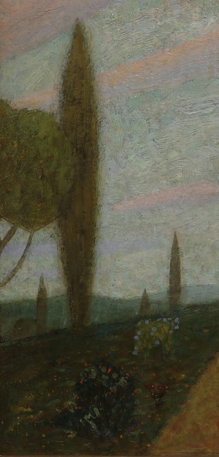 Thoughts -- Women Figurative in Landscape For Sale 2