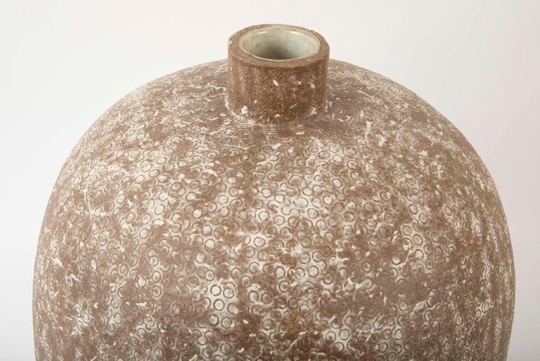 Organic Modern Claude Conover Stoneware Vessel Titled