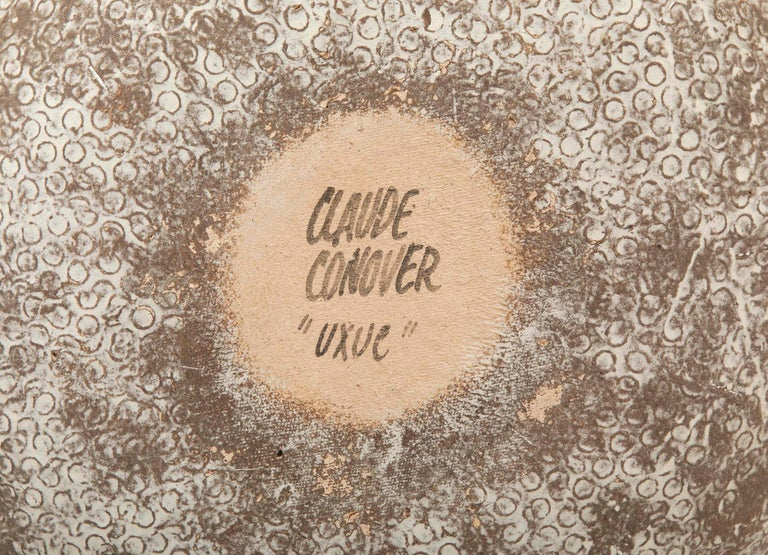 Late 20th Century Claude Conover Stoneware Vessel Titled