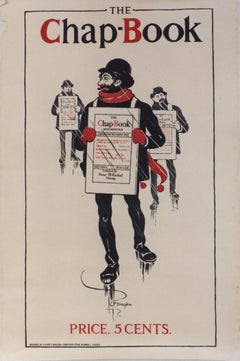 The Chap-Book. Color lithograph/Price Cents /1895.