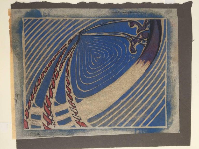 SWING BOATS - Print by Claude Flight