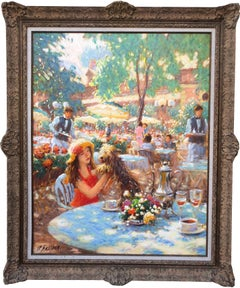 Bagatelle French Impressionist Oil Painting