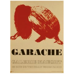 Claude Garache 1975 Galerie Maeght Poster
