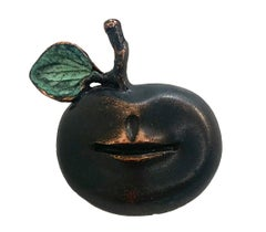 Pomme Bouche, Brooch, Claude Lalanne, French, Design, 1990's, Bronze, Jewels