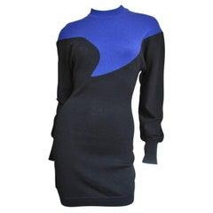 Claude Montana Color Block Dress