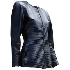 "Claude MONTANA ""New"" Haute Couture Lambskin Jacket Unique pc by Montana - Unworn"