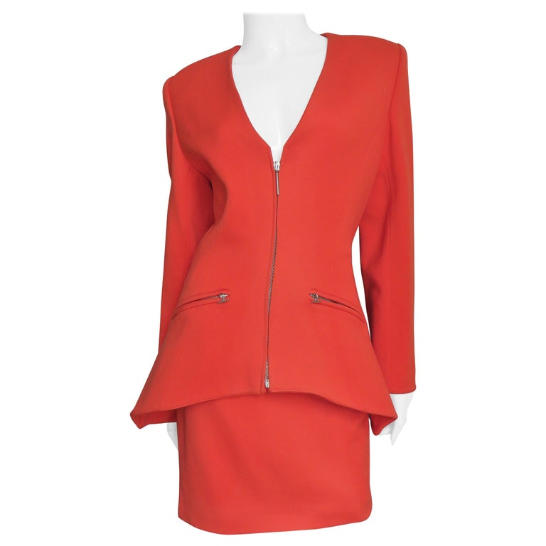 Claude Montana New Skirt Suit  For Sale
