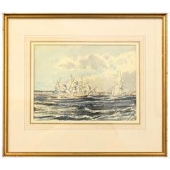 Claude Muncaster, Sea and Ship Landscape