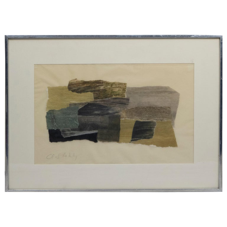 Claude Stahly Tapestry Design Maquette For Sale
