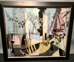 Cubist French sailboats