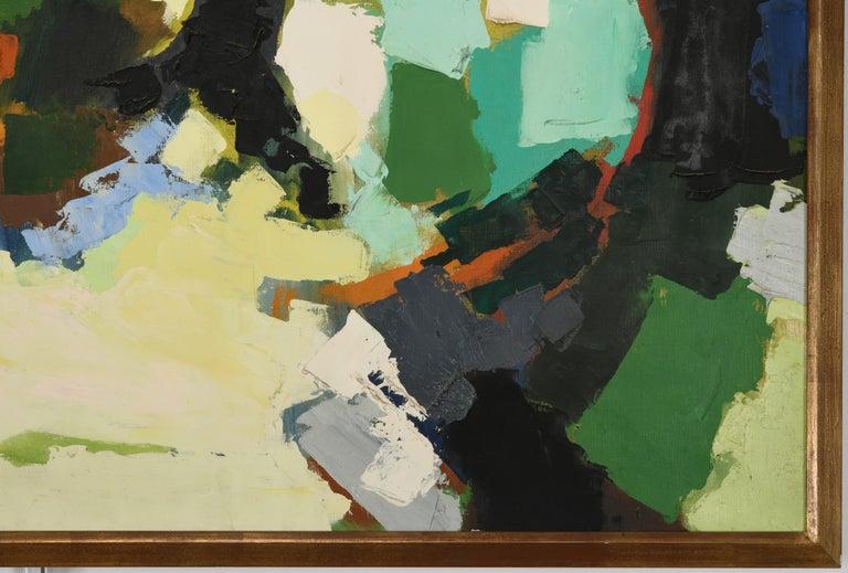 Claude Venard Post Cubist Oil Painting, 1970 For Sale 1