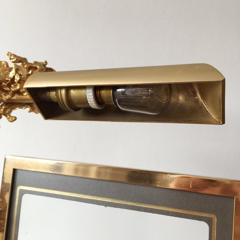 Claude Victor Boeltz 24 Karat Gold-Plated 'Exploded' Photograph Frame For Sale 2