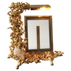 Claude Victor Boeltz 24 Karat Gold-Plated 'Exploded' Photograph Frame