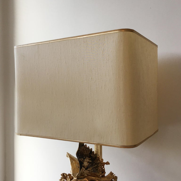 Claude Victor Boeltz 24-Karat Gold Plated 'Exploded' Table Lamp For Sale 5