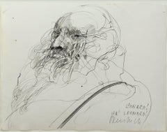 """Homage A Leonard de Vinci (Leonard! Ha! Leonard!),"" by Claude Weisbuch"