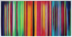 "Acrylic Airbrush, ""The minor fall, the major lift II"" by Claudia Fauth, 2018"