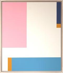 Claudia Fauth Acrylic On Canvas Simplicity Of Art S31
