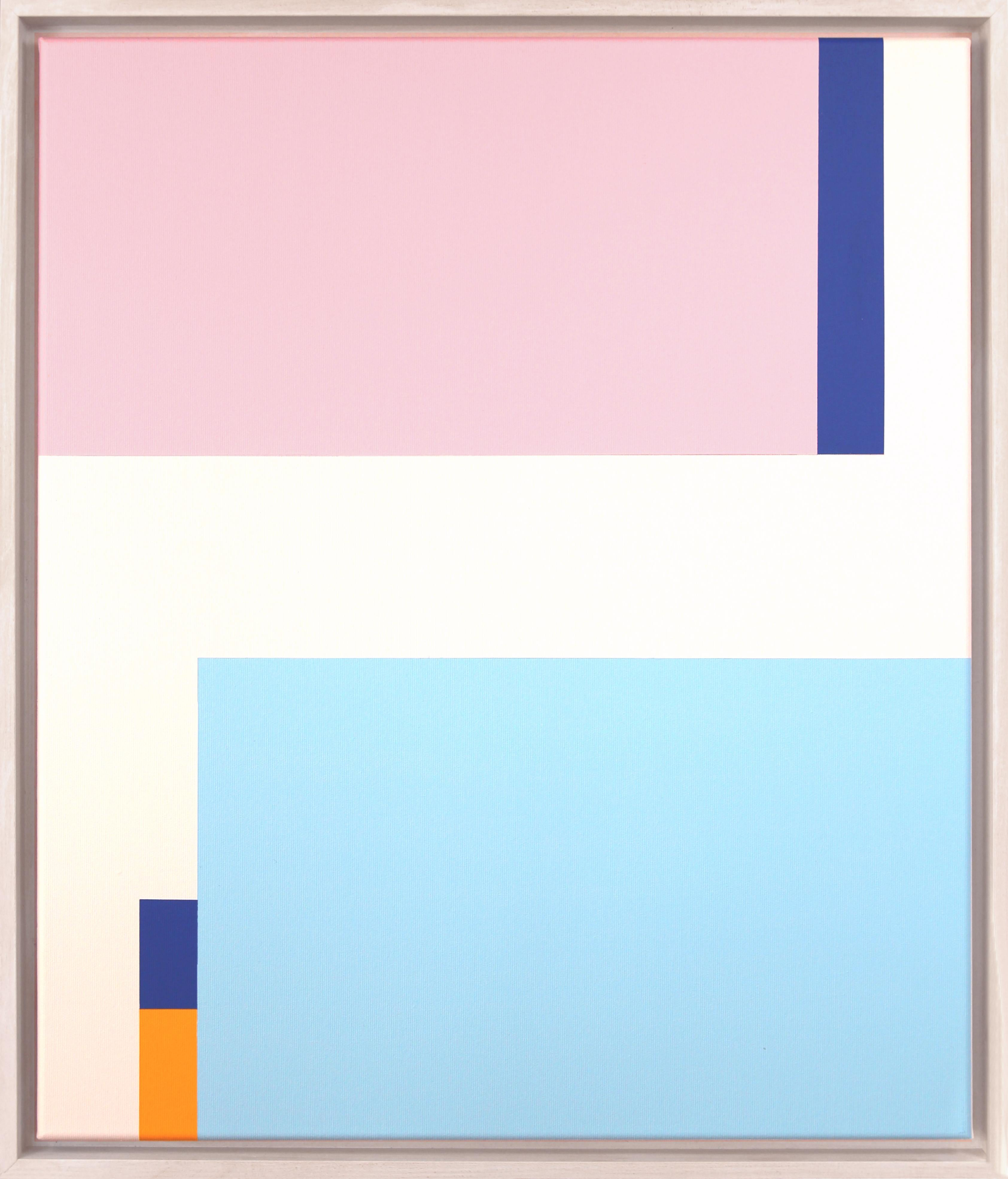 Claudia Fauth Acrylic on Canvas Simplicity Of Art S32