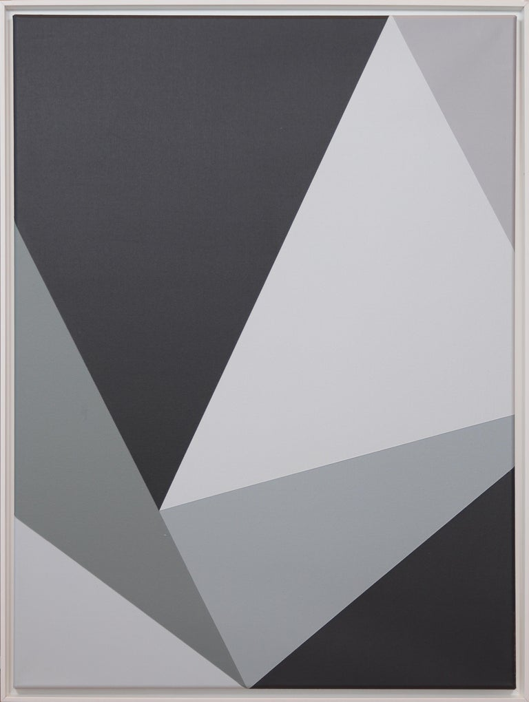 Claudia Fauth Simplicity Of Art S54 Acrylic On Canvas 2020  - Painting by Claudia Fauth