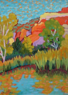 """Cottonwoods and Reeds"""