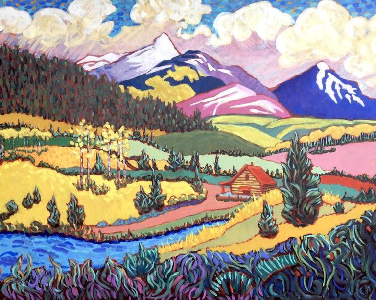 "Claudia Hartley Landscape Painting - ""Magnificent Colorado"""