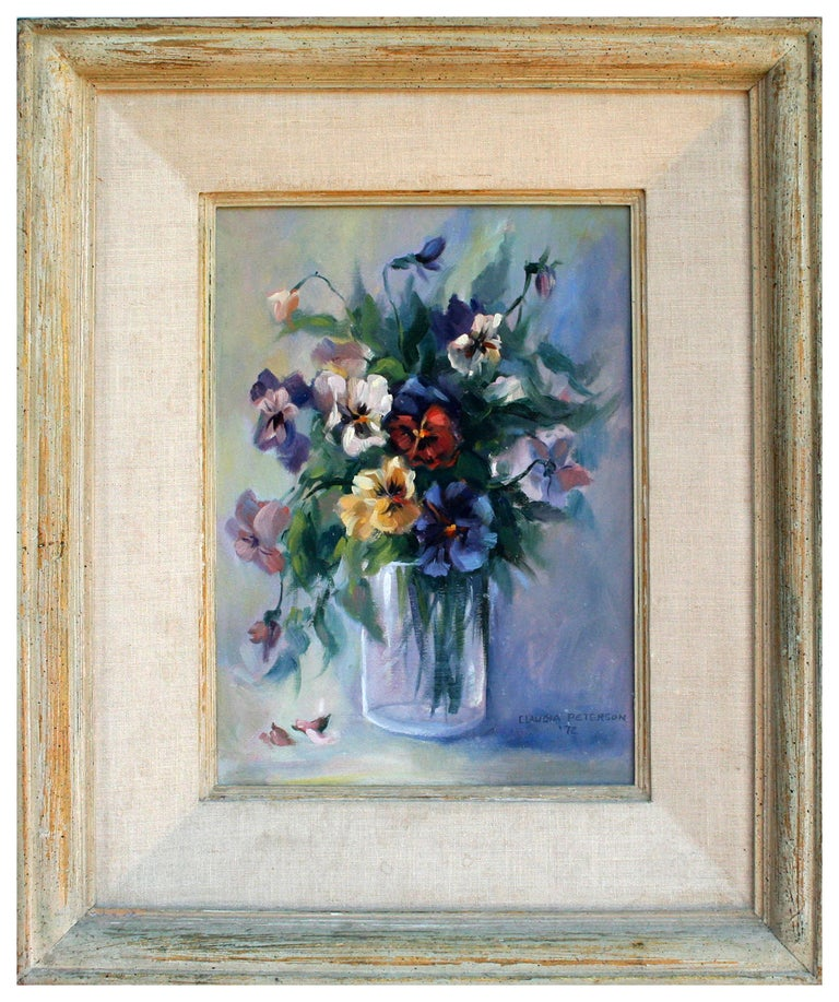 Claudia Peterson Still-Life Painting - Floral Bouquet Still-Life