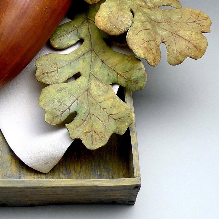 Acorn - Contemporary Sculpture by Claudia Tarantino