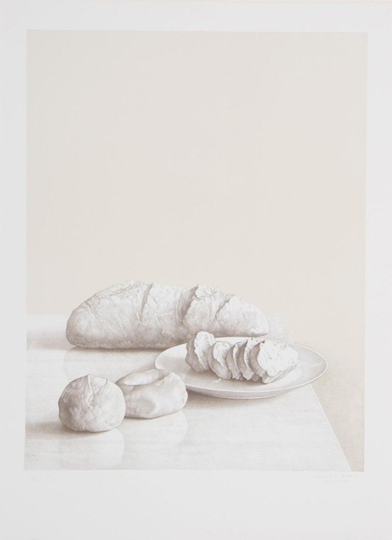 Claudio Bravo Still-Life Print - Bread
