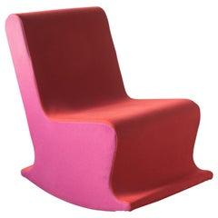 Claudio Colucci DADA Rocking Chair Space Age Digital Pop