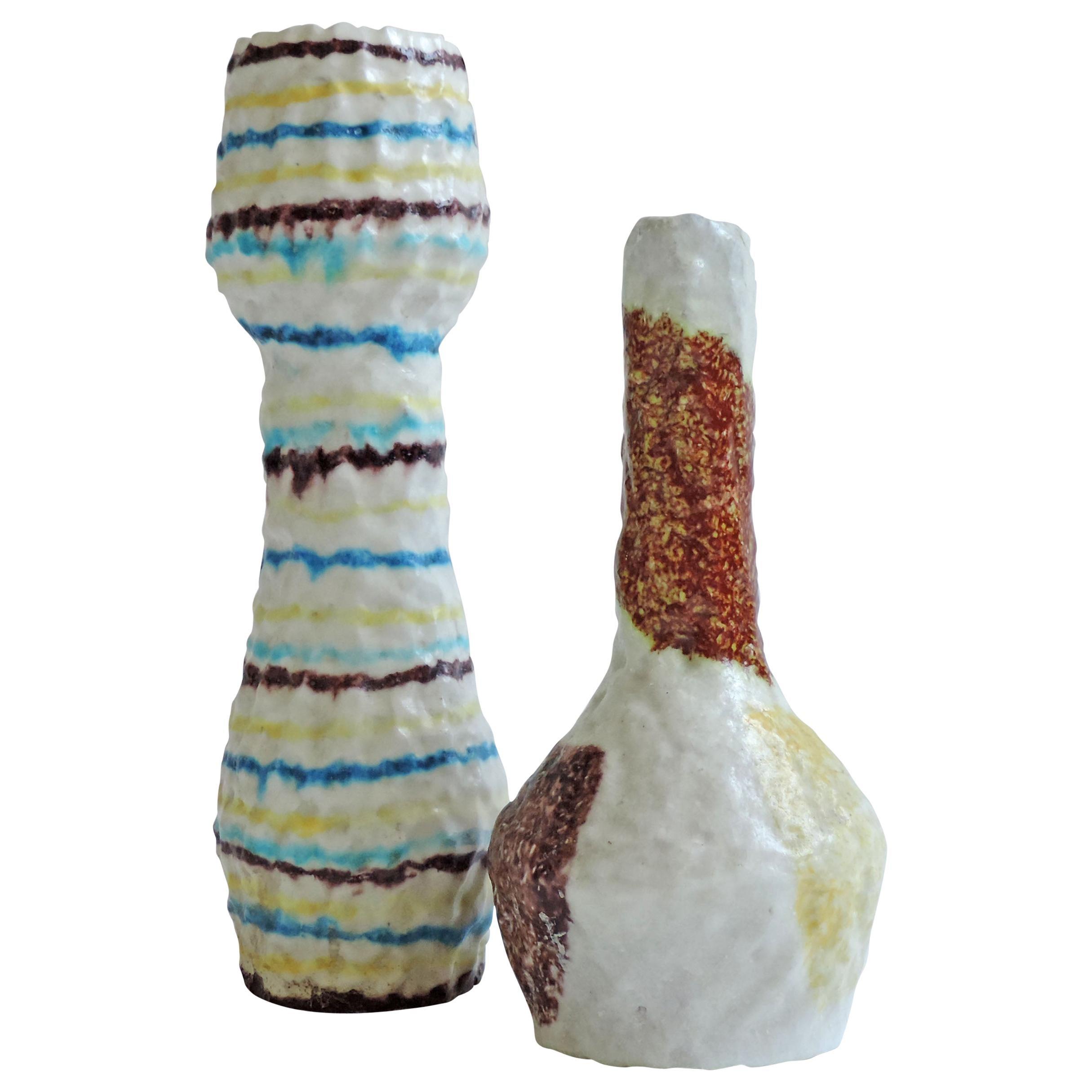 Claudio Ferri Ceramic Vase, Italy, 1950s