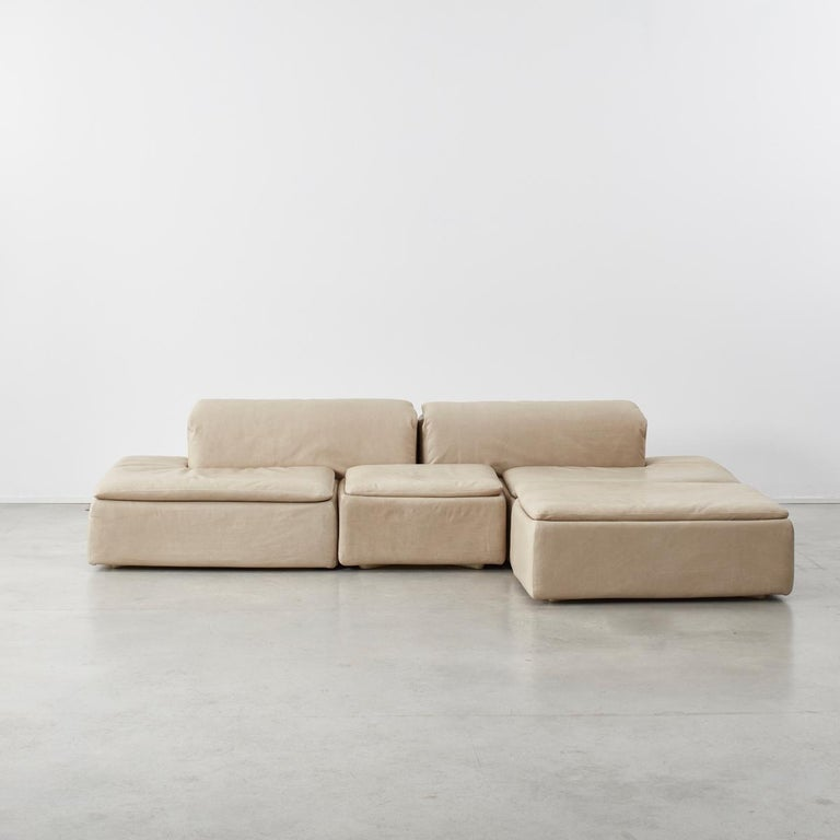 Modern Claudio Salocchi Paione Modular Sofa for Sormani, Italy, 1968 For Sale