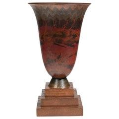 Claudius Linossier, Cornet Vase, circa 1936