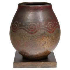 Claudius Linossier, Vase, circa 1935