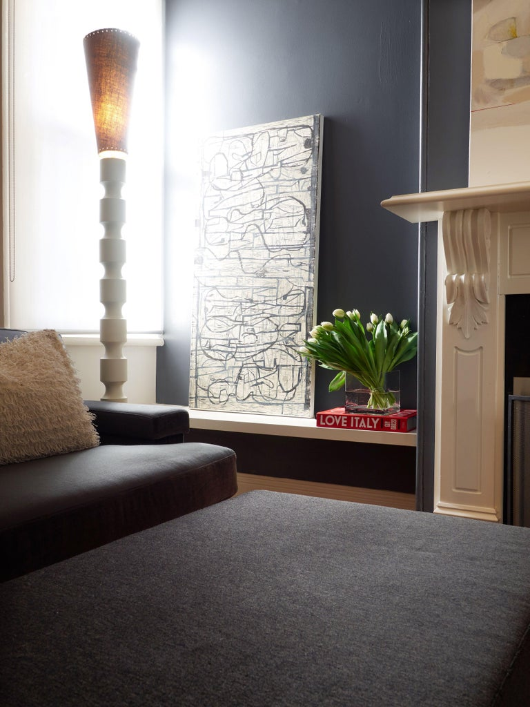 Australian Minimal, Architectural, Sustainable Claus Floor Lamp by Wende Reid For Sale