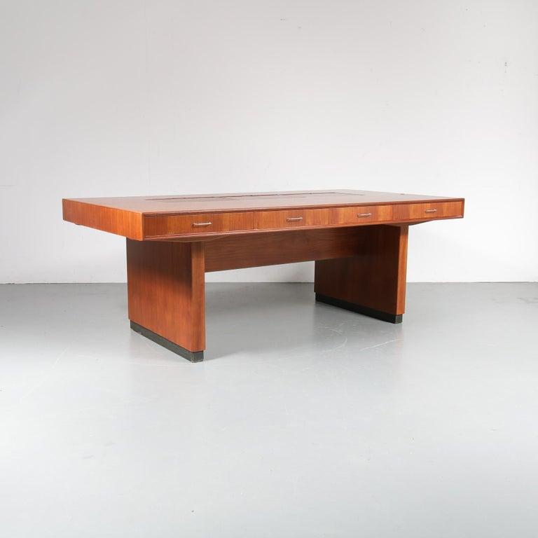 Clausen & Maerus Schreibtisch des Präsidenten für Eden, Norwegen 1960 2