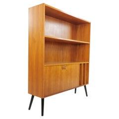 Clausen & Son Teak Bookcase Cabinet, 1960s-1970s, Midcentury