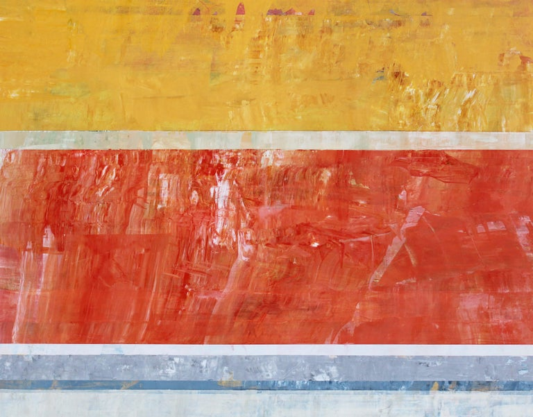 The Delegation (Abstract painting) For Sale 1