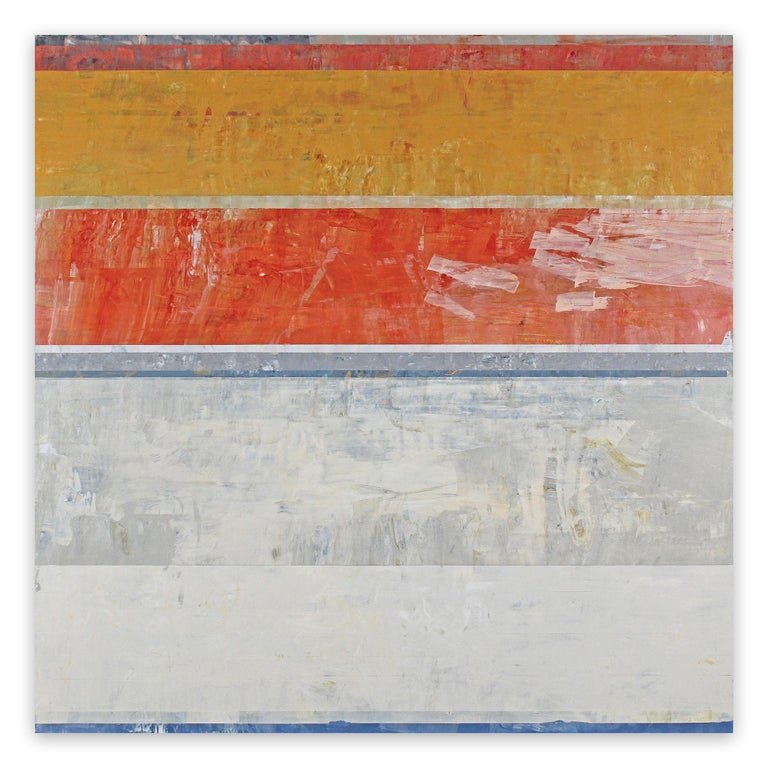 Clay Johnson Abstract Painting - The Delegation (Abstract painting)