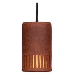 Clay Outdoor Hanging Light HL 20 by Brent J. Bennett, US