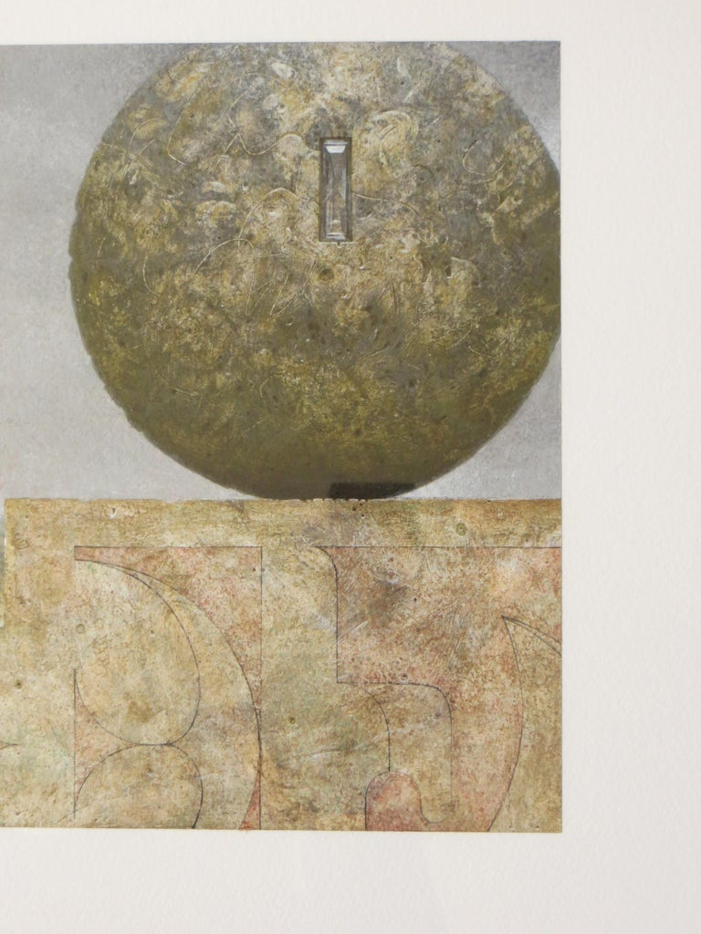 Landscape With Two Spheres For Sale 1