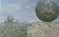Landscape With Two Spheres