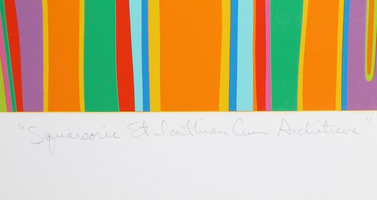 Column Study from Capital Ideas 2 - Pop Art Print by CLAYTON POND