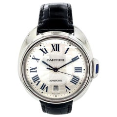 Cle de Cartier Stainless Steel Watch
