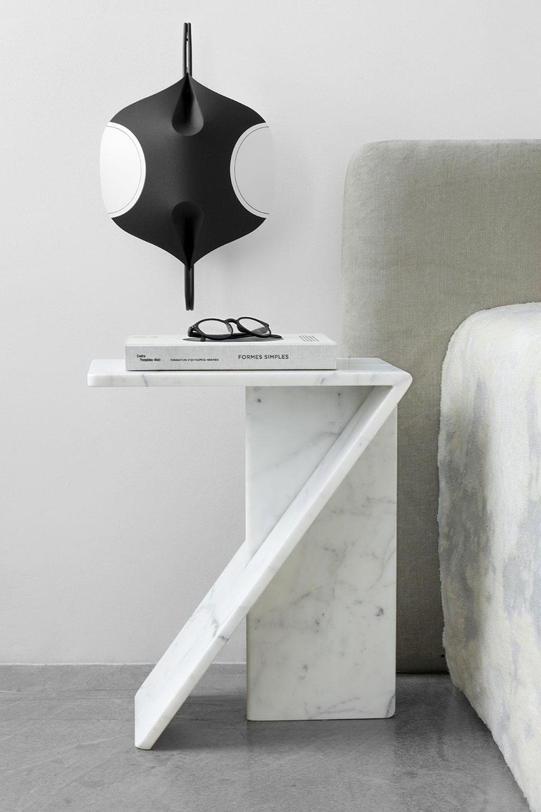 French Clé, Side Table in Marble, YMER&MALTA, France For Sale