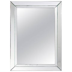 Clean Lined Large-Scale Mirror