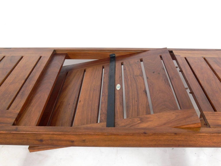South African Clean Lined Midcentury Dining Table by John Tabraham For Sale